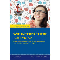 Wie interpretiere ich Lyrik?