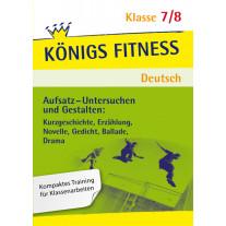 Aufsatz - Untersuchen und Gestalten. Deutsch Klasse 7/8