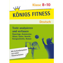 Texte analysieren und verfassen. Deutsch Klasse 8-10