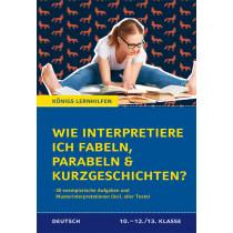 Wie interpretiere ich Fabeln, Parabeln und Kurzgeschichten?
