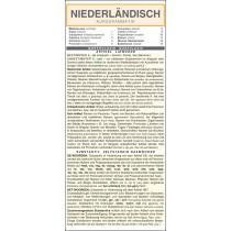 Niederländisch - Kurzgrammatik