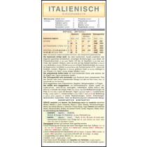 Italienisch - Kurzgrammatik