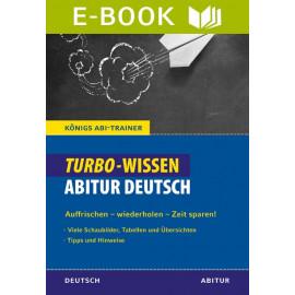 Turbo-Wissen Abitur Deutsch
