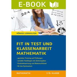 Fit in Test und Klassenarbeit – Mathe 7./8. Klasse Gymnasium