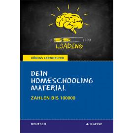 Dein Homeschooling Material - Zahlen bis 100 000