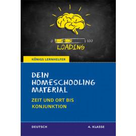 Dein Homeschooling Material - Zeit und Ort bis Konjunktion