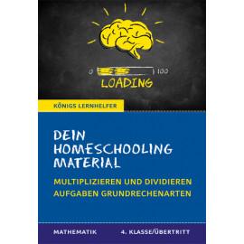 Dein Homeschooling Material - Grundrechenarten