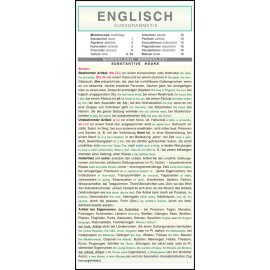 Englisch - Kurzgrammatik
