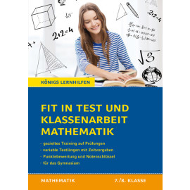 Fit in Tests und Klassenarbeiten Mathe
