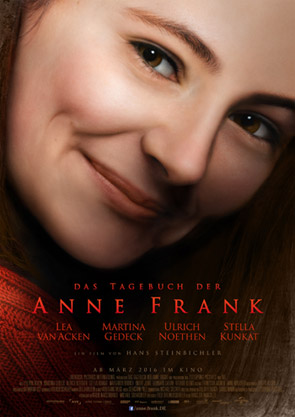Kinofilm Plakat Anne Frank 2016