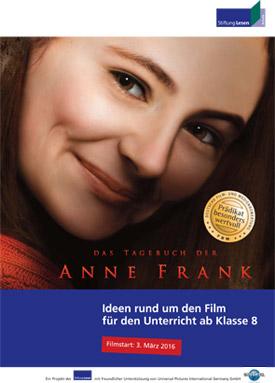 Unterrichtsmaterial Anne Frank Kinofilm
