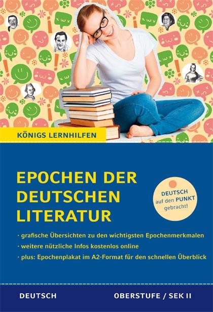 Titelcover - Epochen der deutschen Literatur