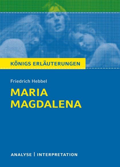 Königs Erläuterung: Maria Magdalena - Titelcover