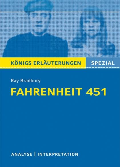 Königs Erläuterung: Fahrenheit 451 - Titelcover