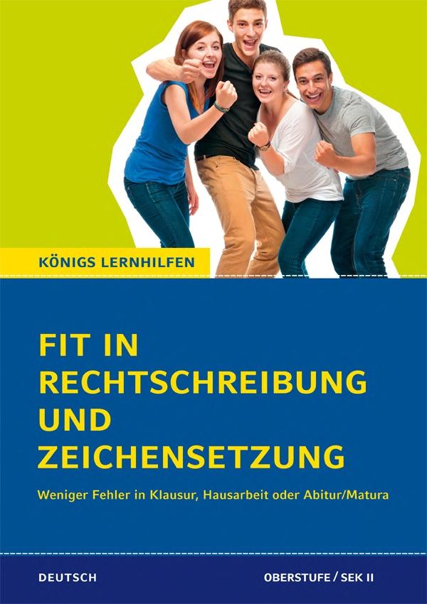 Titelcover Fit in Rechtschreibung und Zeichensetzung für die Oberstufe / SEK II