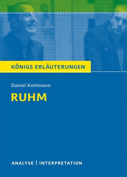 Titelcover - Ruhm Königs Erläuterungen