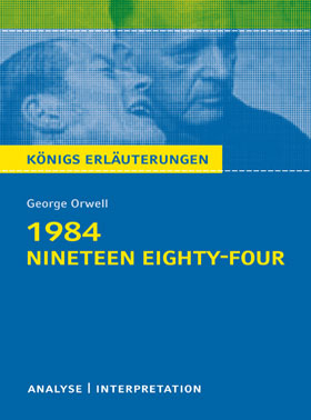 Titelcover 1984 Orwell Königs Erläuterungen