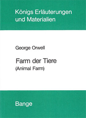 Titelcover Farm der Tiere Königs Erläuterungen