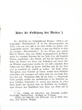 Musterseite Geschichte des dreißigjährigen Krieges Schiller  Königs Erläuterungen