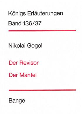 Titelcover Revisor Mantel Gogol Königs Erläuterungen