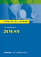 Titelcover Demian Hesse Königs Erläuterungen