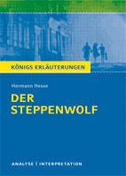 Titelcover Steppenwolf Hesse Königs Erläuterungen