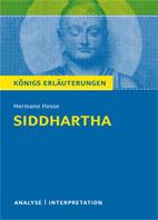 Titelcover Siddhartha Königs Erläuterungen