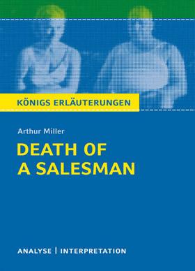 Titelcover Salesman Miller Königs Erläuterungen