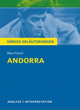 Titelcover Andorra Frisch Königs Erläuterungen